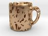 Coffee Cup Bubbles - 3cm Pendant  3d printed