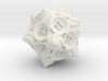 Conch d20 3d printed