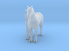 S Scale Man and Horse 3d printed This is a render not a picture