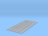 Schienenbefestigung 15m Gleis Doppelschwelle 1:45 3d printed