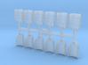 Shoulder Pads Overlap Foxtrot 1 3d printed