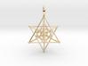 Tripple Star Tetrahedron 27mm 3d printed
