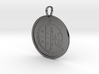 Aim Medallion 3d printed