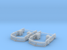 IT Class B O Scale Stanton Truck Sideframes 3d printed