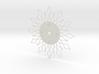 Sunburst Clock - Tasha 3d printed