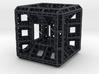 Fractal Hypercube Pendant 3d printed