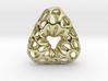 Prescious Structure Soft, Pendant. 3d printed