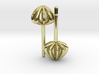 Sea Urchin Earrings small 3d printed