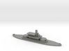 1/1250 HMS Abyssinia (1870) Gaming Model 3d printed