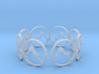 downward facing dog bracelet yoga (2) 3d printed