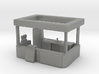 S Scale Food Stand 3d printed This is render not a picture