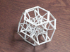 Inversion of 15 Truncated Octahedra 3d printed 15 truncated octahedra, inverted
