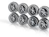 T5 9-0 Hot Wheels Rims 3d printed