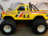 Hobby Grade Servo retainer Radio shack Truck 3d printed For reference only