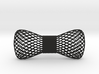 bowtie wireframe 3d printed