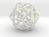 Nested Platonic Solids -Round Wires 3d printed