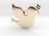 Peace Dove pendant 3d printed