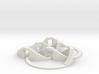 Walkable Borromean Rings 3d printed