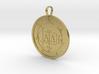 Malphas Medallion 3d printed