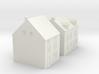 1/350 Village Houses 9 3d printed