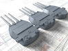 "1/350 HMS Lion Class 16""/45 (40.6 cm) MKII Guns x3 3d printed 1/350 HMS Lion (Proposed) 16"" MKII Guns x3"