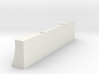 Revell Swept Front Bumper  3d printed Shapeways rendering