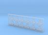 Helmhalter Typ-C 12 Stück 1:35 3d printed