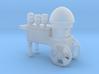 Cotton Candy Vendor Cart O Scale 3d printed