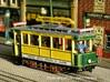 Tramway Paris type 300 - Ho 3d printed This model is painted  and decorated by John Prentice. He modificated the roof for make the first 1905 version. The elements for this modification are not provided with this print.