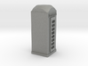 O Scale Telephone Booth 3d printed This is a render not a picture