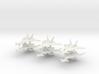 1/350 Mikoyan MiG-31 (Firefox) (x6) 3d printed