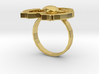 Hilalla ring 3d printed