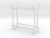 10' Fence Frame - 90 deg L/In (2 ea.) 3d printed Part # CL-10-005