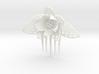 HoneyComb Flower Pin 3d printed