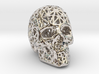 Human Skull with Pattern 3d printed