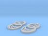 Dryad earrings 3d printed