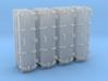 "1/144 Royal Navy 4.7"" Ready Use Lockers (Tall) x4 3d printed 1/144 Royal Navy 4.7"" Ready Use Lockers (Tall) x4"