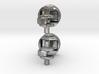 Piston Cufflinks 3d printed