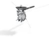 Cassini probe 3d printed