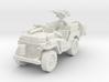 SAS Jeep scale 1/87 3d printed
