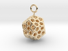 Level 2 Sierpinski Dodecahedron (small) 3d printed