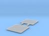 Atlas O Scale F7 Winterization Hatch Screen (flat) 3d printed