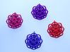 Transcendence lotus flower pendant  3d printed Lotus Flower Pendants