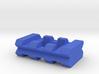 Back-to-Back Weaver Rails Adapter (3 Slots 10.16mm 3d printed