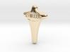 Miller Tie Tack Lapel Pin 3d printed