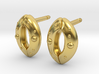 Stomata Earrings - Science Jewelry 3d printed