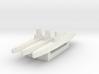 USN Guppy IIA refit 1/2400 x3 3d printed