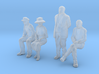 1:48 scale 4 figure pack WS 3d printed