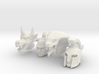 Galaxy Warrior Heads 4-Pack #1 - Multisize 3d printed