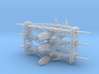 Sikorsky S42 Set of Three 3d printed the pieces arrive caged together to avoid loss and damage - NO SPRUES to cut away!